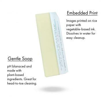 zero-waste skincare print soap